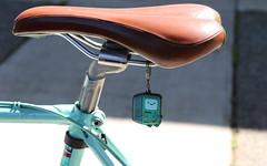 20160406 celeste-bike-saddle-mojo (Jym Dyer) Tags: bicycle oakland bianchi celeste