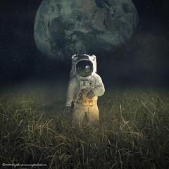 return the Moon (evenliu photography) Tags: sky moon digital photomanipulation photoshop liu search space arts surreal manipulation imagine even  finearts    evenliu