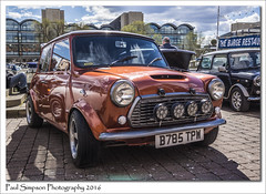 B785 TPW Mini (Paul Simpson Photography) Tags: auto automobile mini lincolnshire lincoln motor sporty motorshow sunnyday customcar brayfordpool lincolnuniversity photosof imageof photoof imagesof sonya77 paulsimpsonphotography april2016
