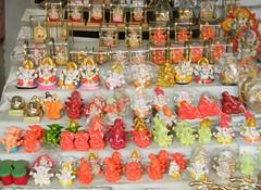 Small ganesh statues at Mahad market (Sachin Baikar) Tags: maharashtra ganpati ashtavinayak mahad mahadmarket varadvinayak