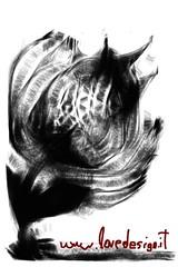 Le fleur du mal (sorpresina) Tags: fleur fingerpaint fingerpainters lovedesign emanuelebertuccelli