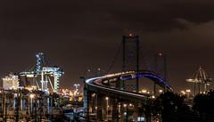 _DO16911 (Edoardo Marino) Tags: city longexposure bridge sunset night port lens harbor nikon longbeach tamron dodi 85 marino sanpedro edoardo vincentthomas d810 edoardomarino