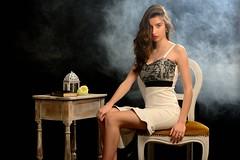 Alessia (Red Baron 3) Tags: liberty smoke alessia elegance fumo studiofotografico nikond600 macchinadelfumo shootingonset enricobarbini