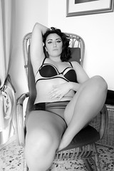 2 (myriamtisbo.) Tags: blackandwhite sexy nude model skin body curvy