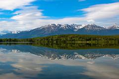 Patricia Lakes (Mark Harris photography) Tags: lake canada nature canon scenery patricialakes