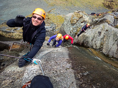 Honister_Via Ferrata (14 of 73) (Kevin John Hughes) Tags: bridge england lake snow mountains net landscape scary burma rope cargo climbing pike keswick buttermere honister dostrict fleetwith mountineering