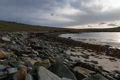 Cullinsbrough, Shetland (JpDreads) Tags: travel sea sky seaweed cold beach water clouds scotland rocks mood shadows shetland