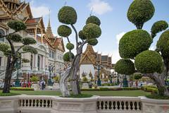 Les boules du palais (Ye-Zu) Tags: voyage trip bangkok royal palais thailande worldtour tourdumonde