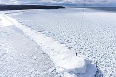 Frozen Breakwater on Lake Superior (Invinci_bull) Tags: winter lake kite ice michigan superior iceberg breakers kap upperpeninsula lakesuperior kiteaerialphotography keweenaw keweenawpeninsula michigansupperpeninsula keweenawwaterway subzerowindchill michiganskeweenawpeninsula