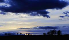 Unnatural (J. Roseen) Tags: sunset clouds sweden norden skandinavien silhouettes nordic sverige scandinavia jnkping afterglow treees solnedgng moln elmia eos7dmkii ssiluetter