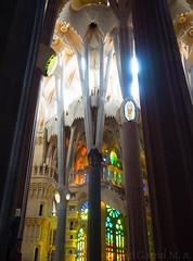 ... (Gabriel M.A.) Tags: barcelona light colors spain natural basilica columns olympus gaud catalunya sagradafamilia 16mm zuiko f28 omd 32mm 1240 em5 baslicadelasagradafamilia olympusmzuikopro1240mmf28