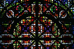 NGV Melbourne - Stained Glass Ceiling detail (Heaven`s Gate (John)) Tags: detail art glass colors architecture modern gallery colours australia melbourne stainedglass victoria ceiling national multi ngv leonardfrench johndalkin heavensgatejohn
