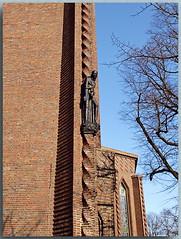 Evangelische Kreuzkirche am Hohenzollerndamm - B (Peterspixel from Peter Althoff) Tags: kreuzkirche sakralbauten hohenzollerndamm