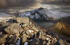 Elidir Fawr and Marchlyn Mawr (Nick Livesey Mountain Images) Tags: