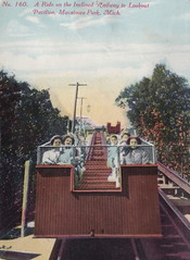 SW Macatawa Holland MI 1914 Inclined Railway to THE LOOKOUT PAVILION ant Macatawa Park Summer Vacation and Family FUN Excursion Ferry Steamship Era1 (UpNorth Memories - Donald (Don) Harrison) Tags: travel usa heritage history tourism st vintage antique michigan postcard memories restaurants hotels trailer roadside upnorth steamship cafes excursion attractions motels mackinac cottages cabins campgrounds city bridge island car upnorthmemories rppc wonders big railroad michigan memories mac state parks entertainment natural harrison roadside ferry travel don tourist mackinaw stops upnorth straits ignace