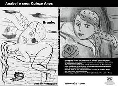 anabel e seus quinze anos - capa do livro de branko (branko_) Tags: fiction book literature cover e livro anos literatura anabel seus branko quinze