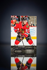 Tanner Kero Young Guns (cdn_jets_cards) Tags: 2 chicago playing ice hockey cards tin deck upper blackhawks series ahl prospect hl upperdeck nhlpa 20152016