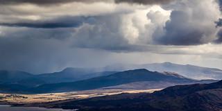 Storm over Y Garn
