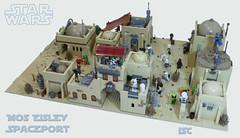 Mos Eisley Spaceport (I Scream Clone) Tags: starwars lego scifi moseisley