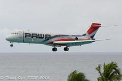 DSC_5801Pwm (T.O. Images) Tags: beach st airport princess dominicana juliana douglas maho maarten sxm mcdonnell md87 pawa hi978
