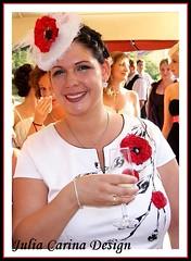 pipacs kalocsai fejdísz esküvő julia carina (JÚLIA CARINA DESIGN) Tags: egyedi kézzel készült kiegészitők fejdísz kalap esküvő fehér fashion juliacarinadesign pipacs menyasszony flower kenzo dekor wedding bride bridal wear woman lady fascinator white handmade individual hairpeace hat veil menyasszonyi esküvői menyaszony fátyol fejdisz julia carina design kézzelkészült budapest madeinhungary hajdísz pin up carneval collector jewellery accessories burlesque horseracing