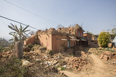 """We used to have a farm house which has been in our family for four generations"""" (Handicap International UK) Tags: nepal earthquake uma kathmandu survivors disability silwal"""