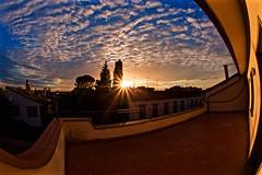Pure sunset 1 (Fabrizio Reali (Fabri93)) Tags: light sunset sky cloud sun nature colors strange clouds canon colorful shot sundown cielo skyscapes