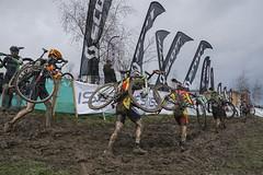 DSC02378 (GSH1970) Tags: field ian cycling nikki mud bikes racing shrewsbury liam helen harris muddy cyclocross wyman killeen sundorne