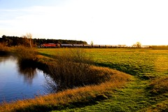 60024 Wrawby 23 Dec 15 (doughnut14) Tags: diesel rail loco lincolnshire tug freight kingsbury tanks humber class60 wrawby 60024 dbschenker 6e54