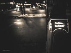 (N.H. || Photography) Tags: street light sign vintage prime dof bokeh 10 olympus pole pro 12mm em walimex omd lense f20 em10