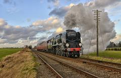 34053. On the TPO . (Alan Burkwood) Tags: steam locomotive sr quorn gcr bulleid 34053 sirkeithpark