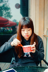 _MG_0240 (WayChen_C) Tags: icecream taichung coldstone 台中 勤美誠品 草悟道 calligraphygreenway