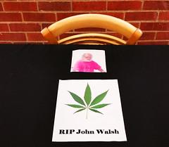 RIP JW - John Walsh University of Oregon (Wolfram Burner) Tags: school college public oregon john campus university photojournalism icon eugene medical pot uo figure pdx maryjane journalism uofo legal universityoforegon walsh advocate uoregon marihuana norml ospirg marijauna dispeneries