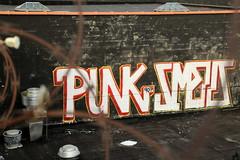punk smells (Luna Park) Tags: nyc ny newyork brooklyn graffiti punk lunapark rollers smells 907 907crew
