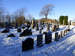 Stirling (11) (lairig4) Tags: snow castle cemetery scotland stirling oldtown holyrude