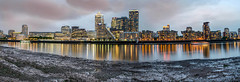 Canary Wharf (iankent1963) Tags: city london thames clouds reflections river nikon capital wharf canary d5100 architetecure