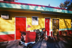 La Mejor Taqueria #2 (1) (jfpj) Tags: california red color green film yellow colorful bright toycamera sanjose mexicanfood mexican taco vivitar taqueria plasticcamera mexicanrestaurant trashcam 10faves vivitarultrawideandslim