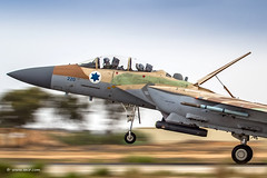 F-15I Ra'am / Thunder Panning through panning through...  Nir Ben-Yosef (xnir) (xnir) Tags:  israel through panning thunder raam nir iaf israelairforce benyosef f15i xnir