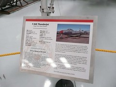 """Republic F-84 Thunderjet 3 • <a style=""""font-size:0.8em;"""" href=""""http://www.flickr.com/photos/81723459@N04/24454056860/"""" target=""""_blank"""">View on Flickr</a>"""