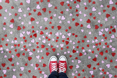 Lots of love (YetAnotherLisa) Tags: red portrait holiday love self hearts heart valentine converse chucks valentinesday cliche hcs day43366 yetanotherlisa 52weeks2016 366the2016edition 3662016 12feb16 yetanotherlisa2016