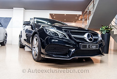 Mercedes-Benz Clase E 250 Coupè - AMG - 211 c.v - ( C 207 ) - Negro Obsidiana - Piel Negra