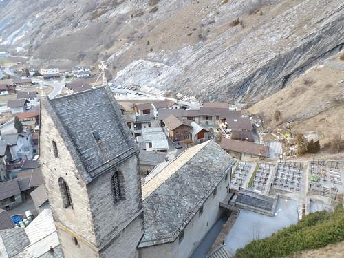 Joli village, dans le Valais