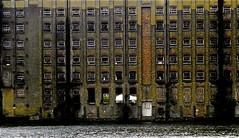 DERELICTION (conespider) Tags: old uk windows england building brick london water thames docks buildings river outside nikon outdoor gb dereliction 2014 dockside timespast thamesside
