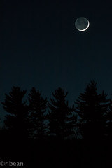(rbean1229) Tags: nightphotography autumn moon hiking moonrise