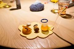Pacifier and pipe (FoodTy [food-tee]) Tags: italy europe michelin padova rubano massimilianoalajmo 3michelin lacalandre
