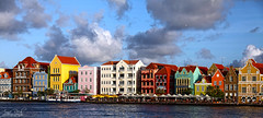 Willemstad Harbour - Explored (Anne Rech photography) Tags: sky house colour harbour curacao netherland caribbean colourful curaao antilles karibik
