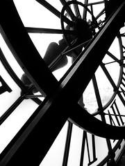 Orsay Museum - Clock (annelaurem) Tags: blackandwhite paris france clock monochrome musedorsay orsaymuseum
