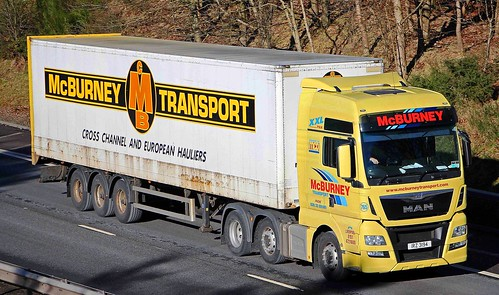 MAN - McBURNEY TRANSPORT Ballymena Co.Antrim NI