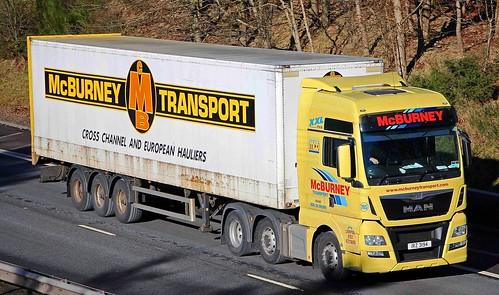 MAN - McBURNEY TRANSPORT Ballymena Co.Antrim NI