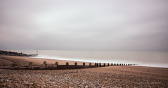 Grey Day at the Beach (21) (Malcolm Bull) Tags: beach groyne channel include shoreham stopper widewater 20160213widewater0021edited1web